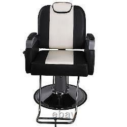 Hydraulic Recline Barber Chair Beauty Salon Spa Shampoo Hair Styling Equipment