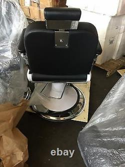 Hydraulic Recline Barber Chair Heavy Duty Shampoo Salon Beauty Spa Hair Styling
