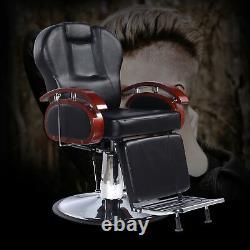 Hydraulic Reclining Barber Chair Salon Beauty Spa Shampoo Equipment Modern