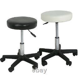Hydraulic Tattoo Salon Adjustable Stool Massage Facial Spa Beauty Rolling Chair
