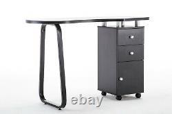 Manicure Nail Table Beauty Salon Spa Acetone Resistant Station Desk 0422