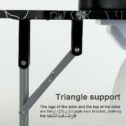 Manicure Nail Table Portable Folding Station Desk Beauty Spa Salon with Carry bag