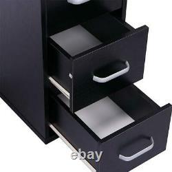 Manicure Nail Table Station Beauty Spa Salon Equipment Acetone Resistant Black