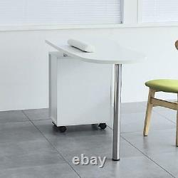 Manicure Nail Table Work Station Desk Beauty Salon Spa With Storage & Drawers