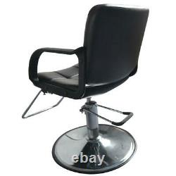 NEW Black Hydraulic Barber Chair Salon Hair Styling Beauty Spa Shampoo Equipment