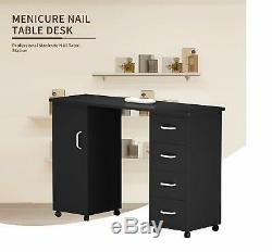 Nail Table Manicure Station Desk Spa Beauty Salon Beauty Salon Technician Table