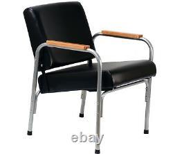 Natural Oak Arm Shampoo Chair Auto Reclining Barber Beauty Spa Salon Equipment