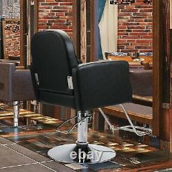 New Classic Salon Chair Hydraulic Barber Chair Hair Stylist Beauty Spa Equipment
