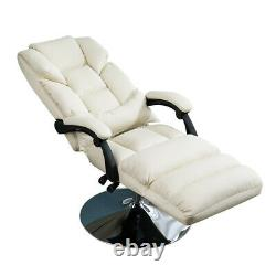 New White Office Bed Chair Tattoo Massage Facial Table Barber Beauty Spa Salon