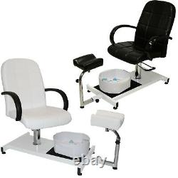 Pedicure Station & Hydraulic Chair Massage Foot Spa Beauty Salon Equipment