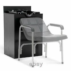 Portable Backwash Shampoo Bowl Sink Beauty Spa Salon Equipment Station Unit 110V