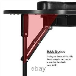 Portable Folding Manicure Nail Table Station Desk Spa Beauty Salon withCarry Bag
