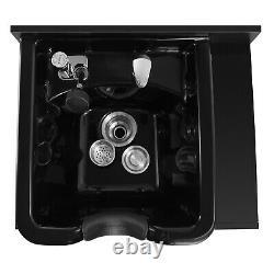 Pro Multifunction Backwash Sink Station Shampoo Bowl Salon Beauty Spa Equipments