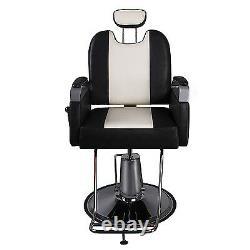 Professional Black Hydraulic Styling Barber Chair Spa Beauty Salon Equipment
