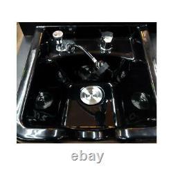 Professional Shampoo Bowl Sink Station Salon Barber Spa Beauty Equipment