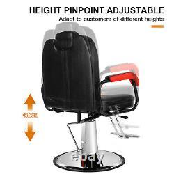 Reclining All Purpose Hydraulic Barber Chair Salon Beauty Spa Shampoo Styling