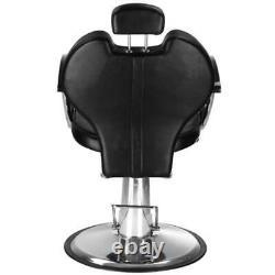 Reclining Hydraulic Barber Chair Styling Salon Beauty Shampoo Spa Equipment