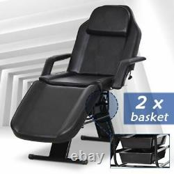 Salon Barber Chair Tattoo Spa Massage Beauty Facial Bed with Adjustable Basket