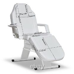 Salon Barber Chair Tattoo Spa Massage Table Folding Facial Bed Beauty withBasket