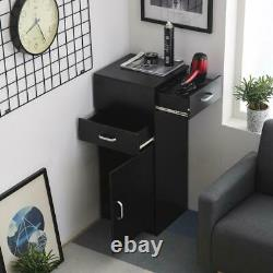 Salon Hair Styling Barber Station Storage Cabinet Draw Beauty Spa Equipment