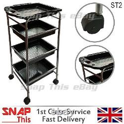 Salon Hairdresser Barber Beauty Storage Trolley Hair Drawers Colouring Spa Cart