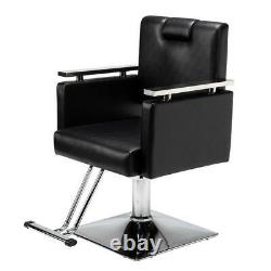 Salon Spa Equipment Hydraulic Recline Barber Chair Hair Beauty Stylist Stations