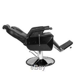 Salon Spa Equipment Hydraulic Reclining Barber Chair Hair Beauty Stylist Station