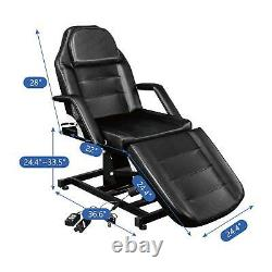 Salon Spa Facial Massage Table Electric Beauty Bed Adjustable Reclining Chair