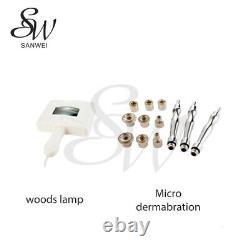 Sanwei 9 IN 1 White Multi- Functional Skin Care Beauty Machine Salon Spa Use
