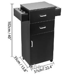 Styling Station Barber Cabinet Salon Furniture MDF Beauty Spa Drawer