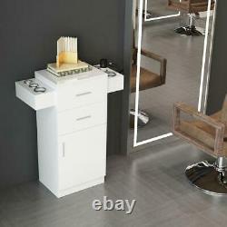Styling Station Barber Cabinet Salon Furniture MDF Lockable Beauty Spa Drawer