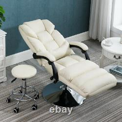 US White Office Bed Chair Tattoo Massage Facial Table Barber Beauty Spa Salon